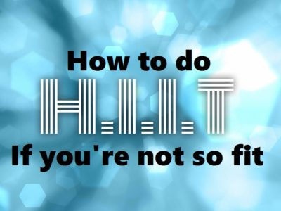 How to do HIIT if you're not so fit