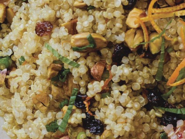 Quick, Healthy, Cheap Recipe #16 – Orange Pistachio Quinoa