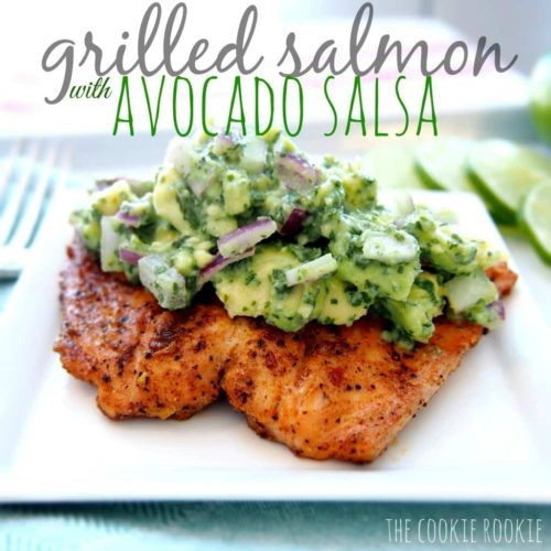 Quick, Healthy, Cheap Recipe #14 – Grilled Salmon with Avocado Salsa